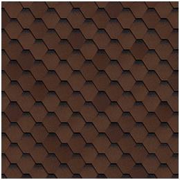 Шинглас. коллекция кадриль, цвет коричневый